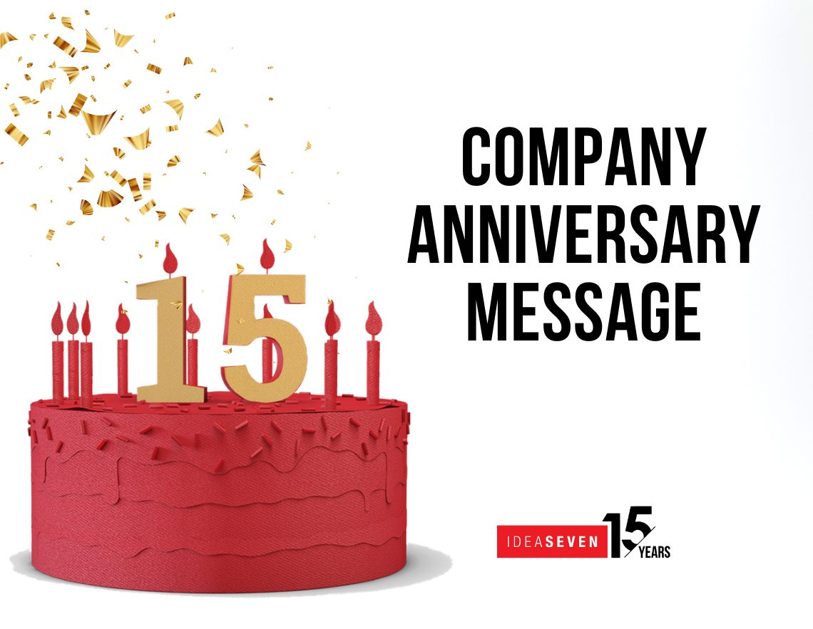 15 Years birthday